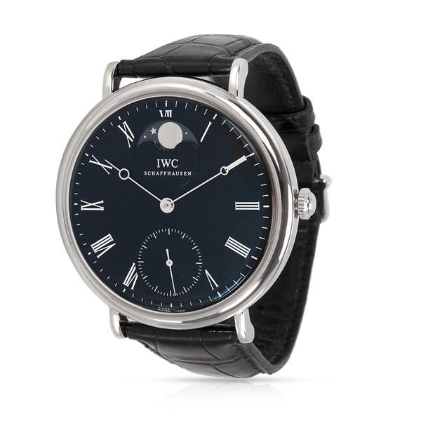 IWC Vintage Portofino Moonphase IW544801 Men's Watch in Stainless Steel