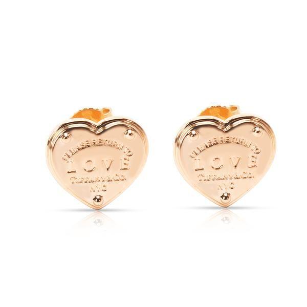Tiffany & Co. Return to Tiffany Love Earrings in 18K Rose Gold