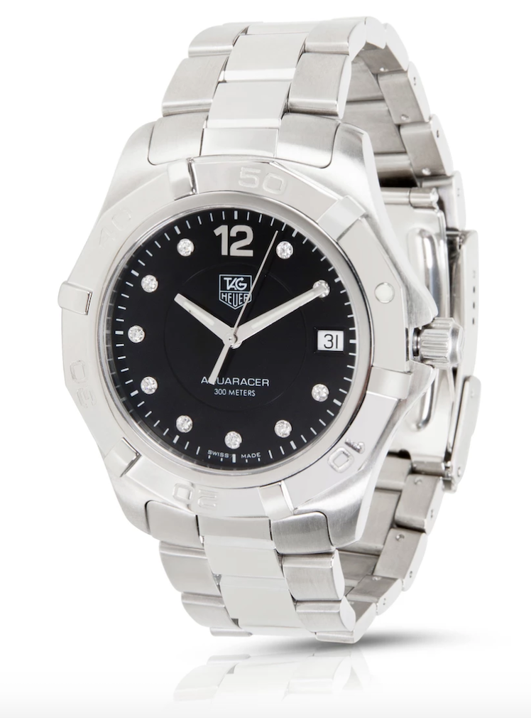Tag Heuer Aquaracer WAF111C Men's Watch in Stainless Steel