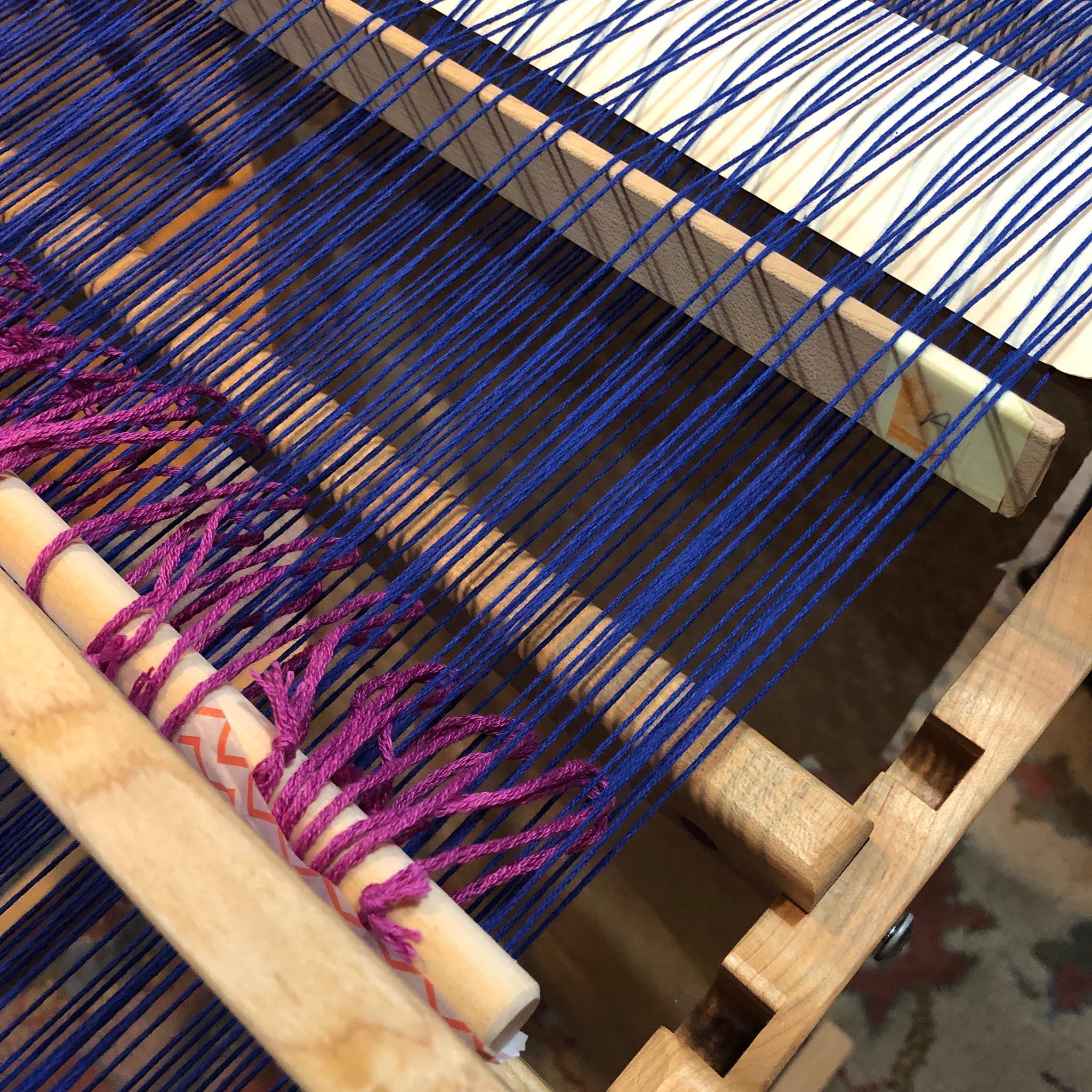 String Heddle & Heddle Rod Tutorial for Rigid Heddle Looms