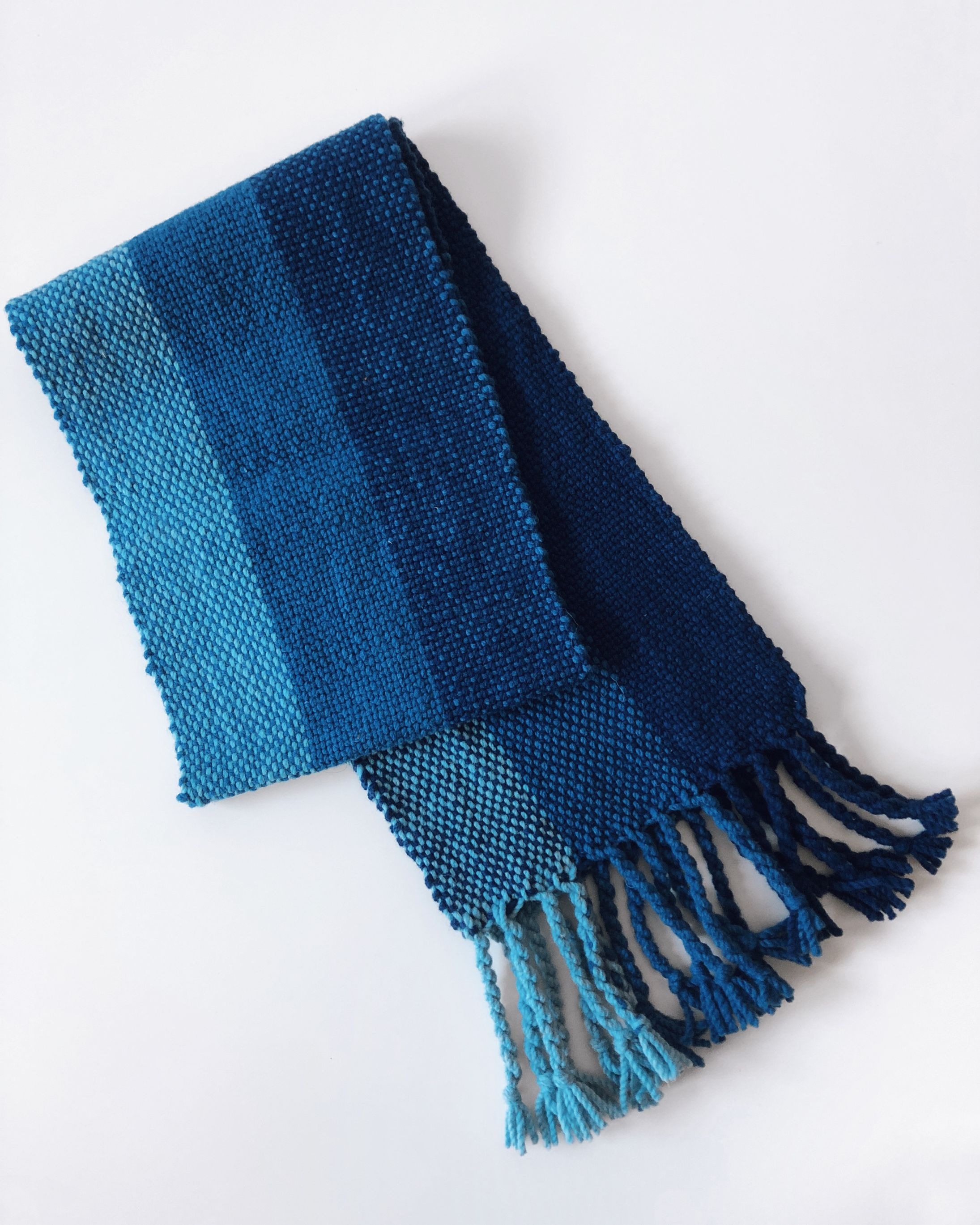 Free Pattern Weave a Cozy Merino Wool Scarf on a Rigid Heddle Loom