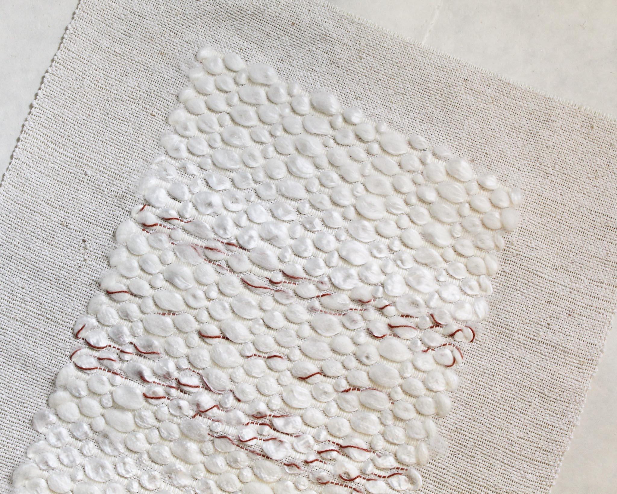 Weaving Artist Spotlight Rachel Snack Gist Yarn and Fiber