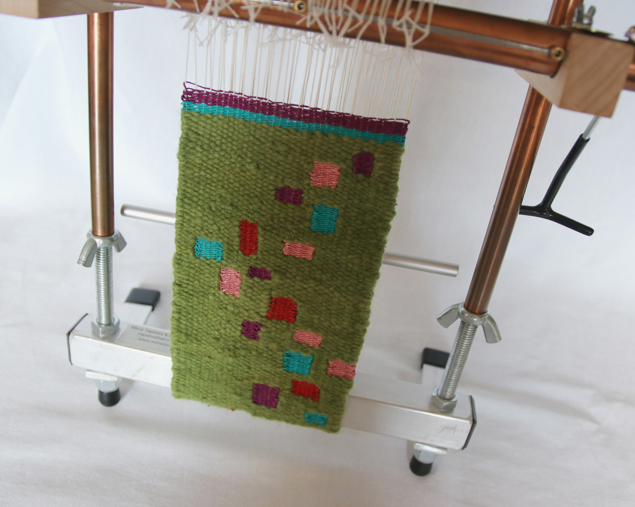 Tapestry Weaving on a Mirrix Loom with Claudia Chase – GIST