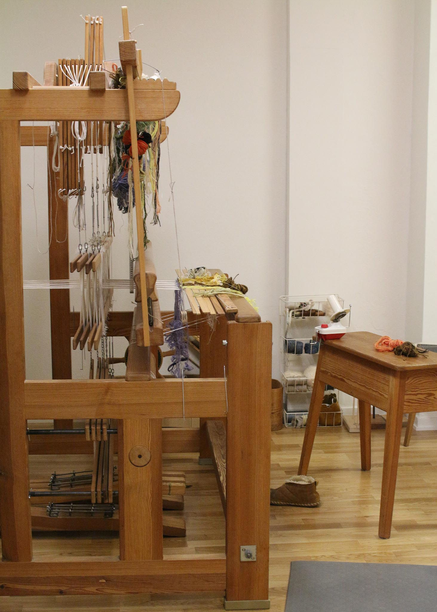 Studio interview with Arianna Funk Swedish Weaving Patterns
