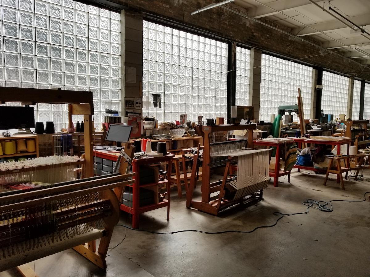 Emily Winter, The Weaving Mill