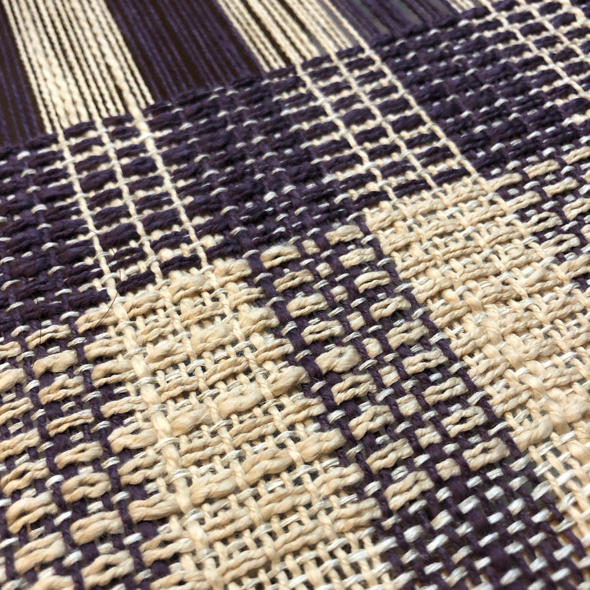 Free Weaving Pattern Overshot Rigid Heddle Towels