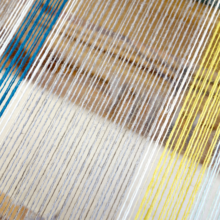 Free Weaving Pattern Striped Linen Tea Towels