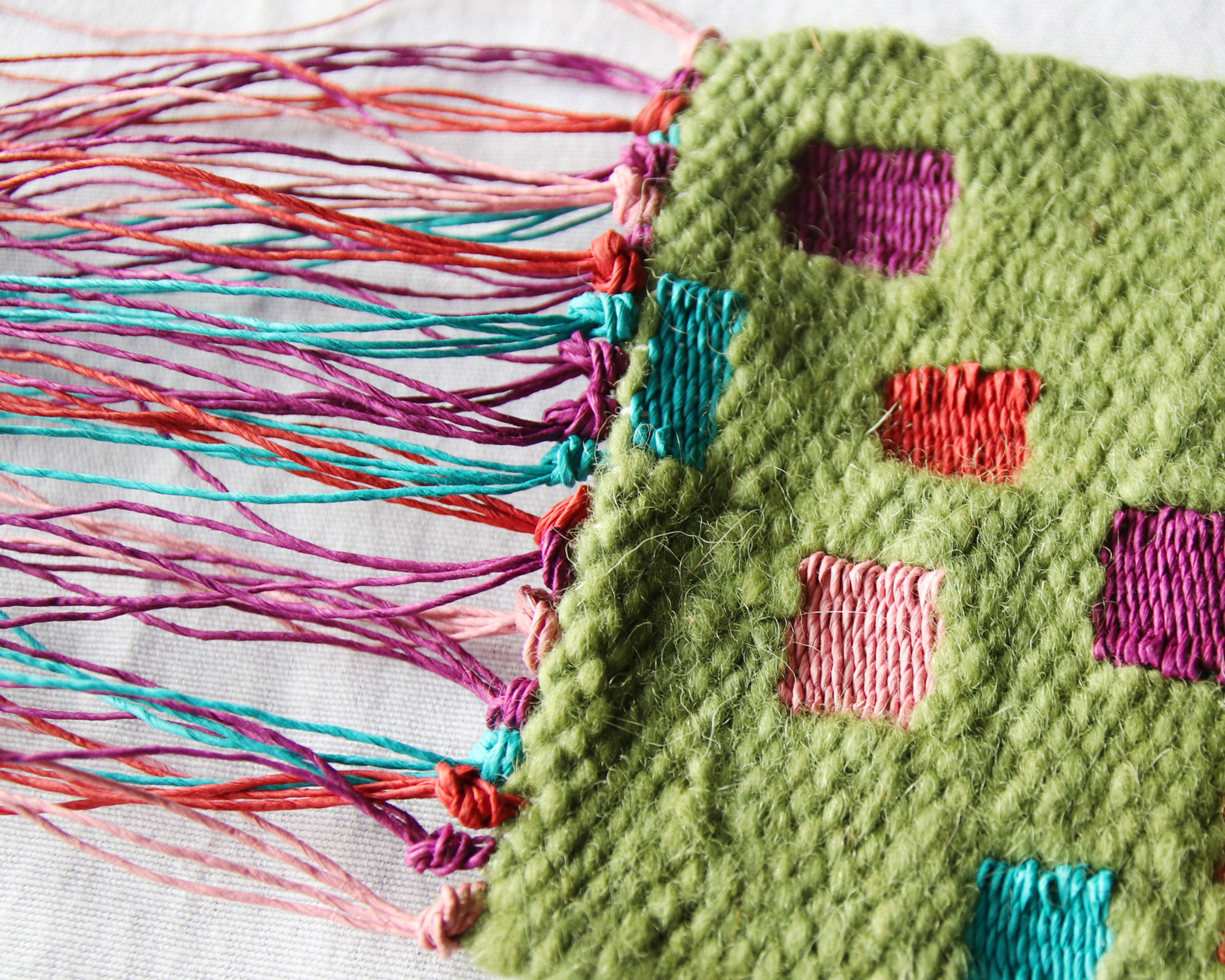 Tapestry Weaving on a Mirrix Loom with Claudia Chase