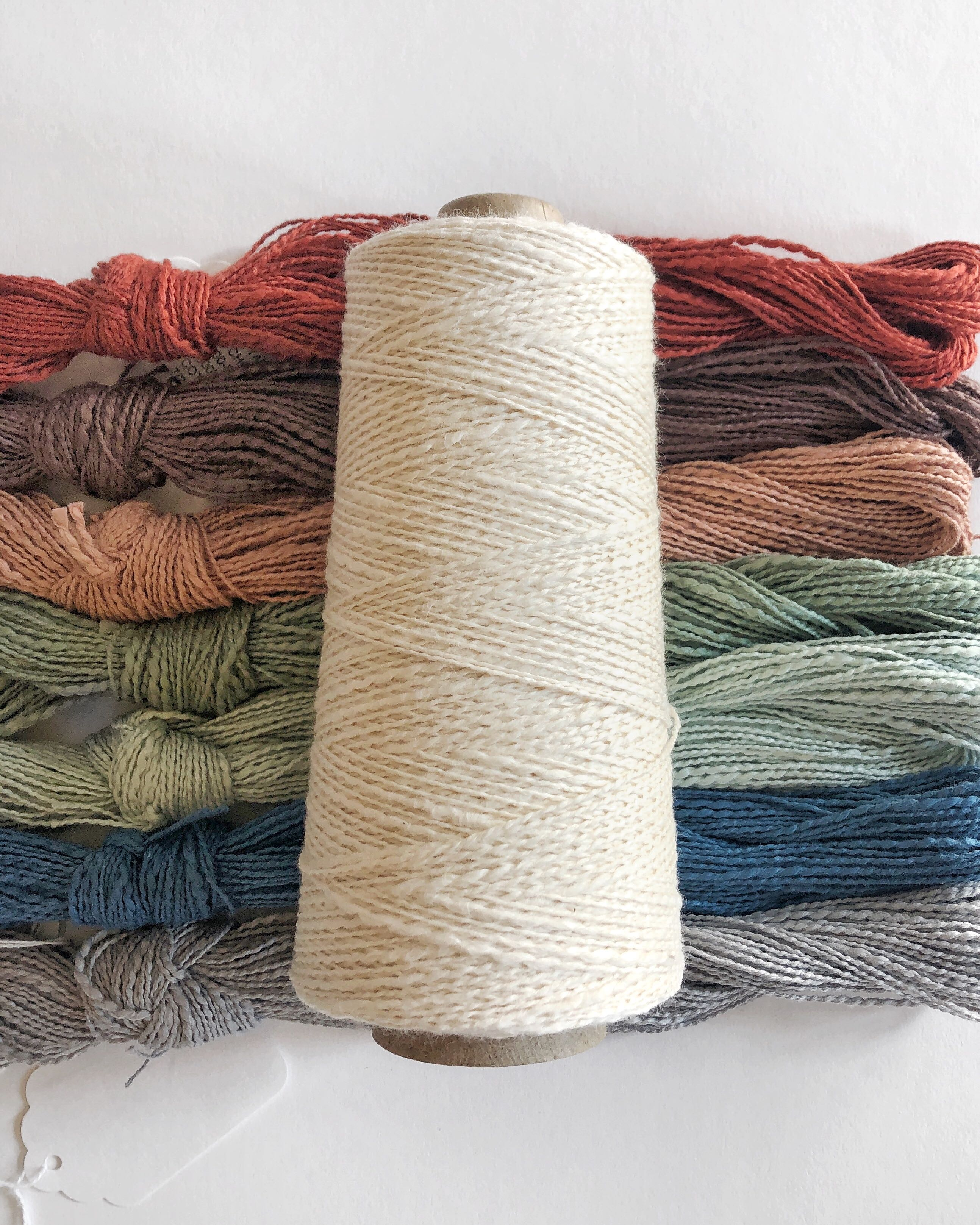 Mallo Cotton Slub Weaving Yarn – GIST: Yarn & Fiber