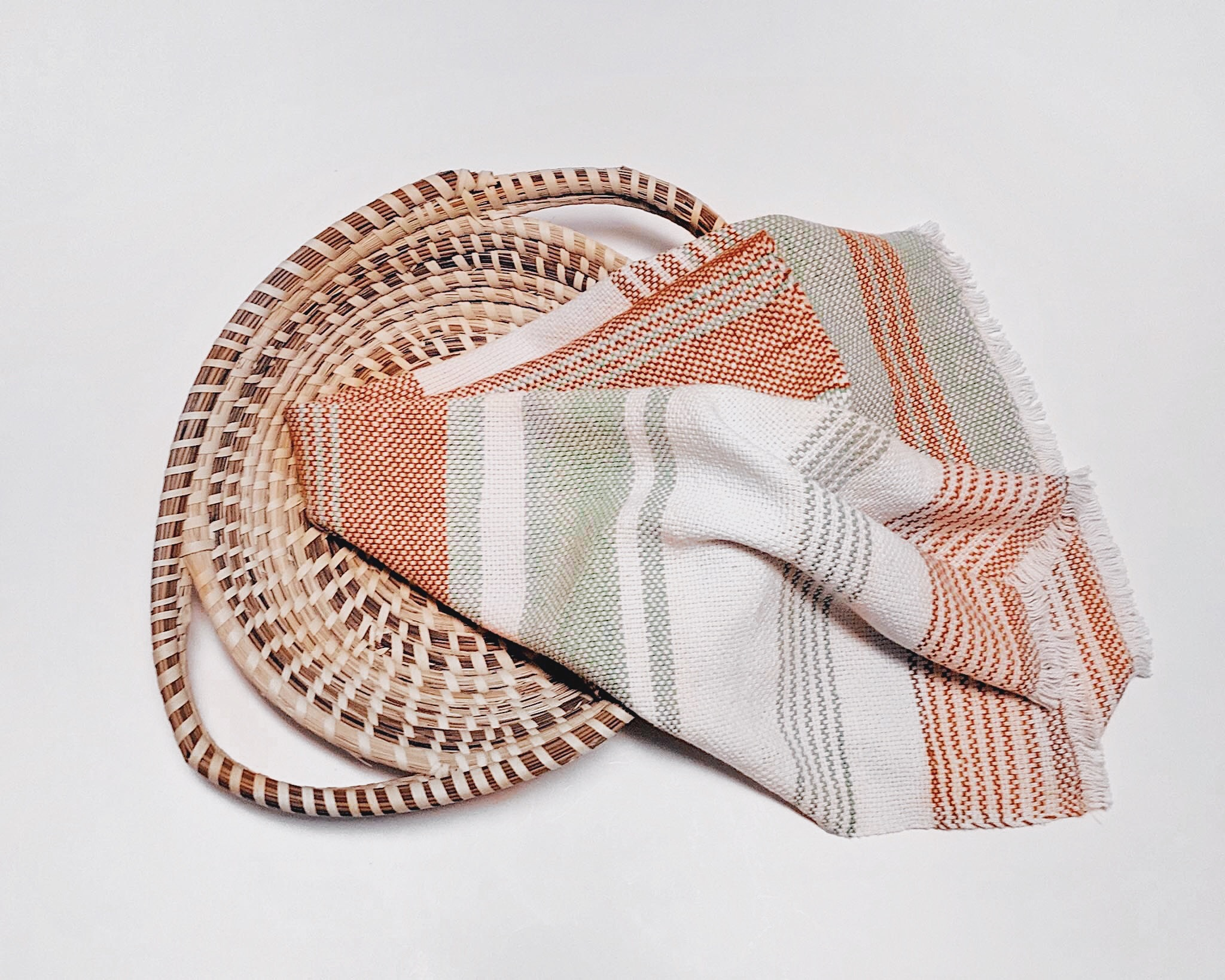 Beginner Rigid Heddle Skyline Tea Towels
