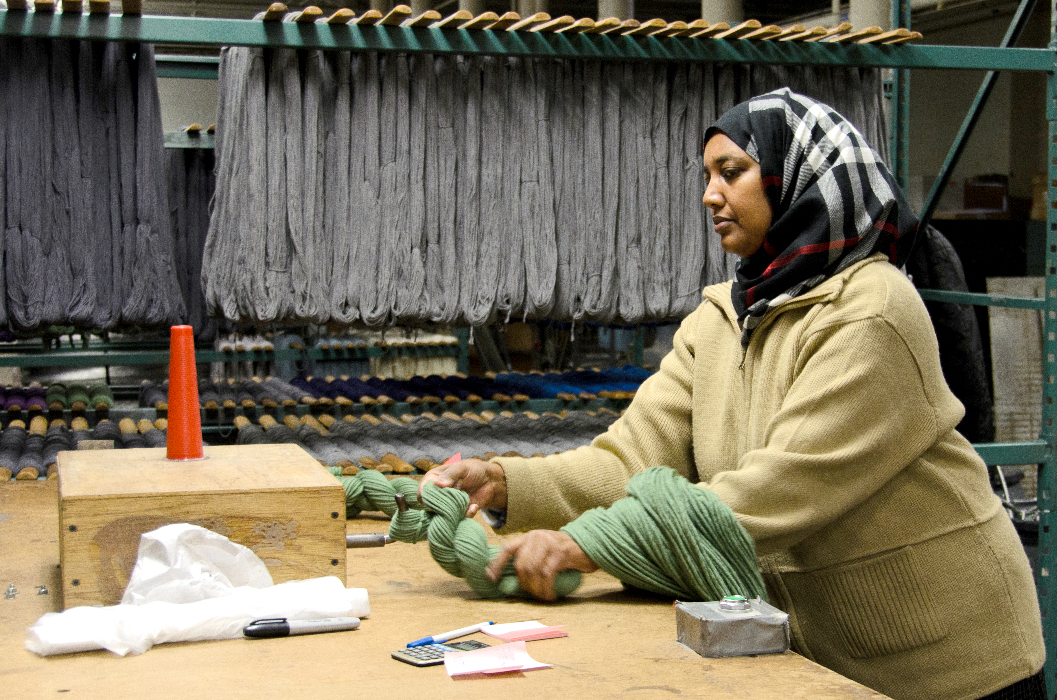 Maine Dye and Textiles Weave Podcast