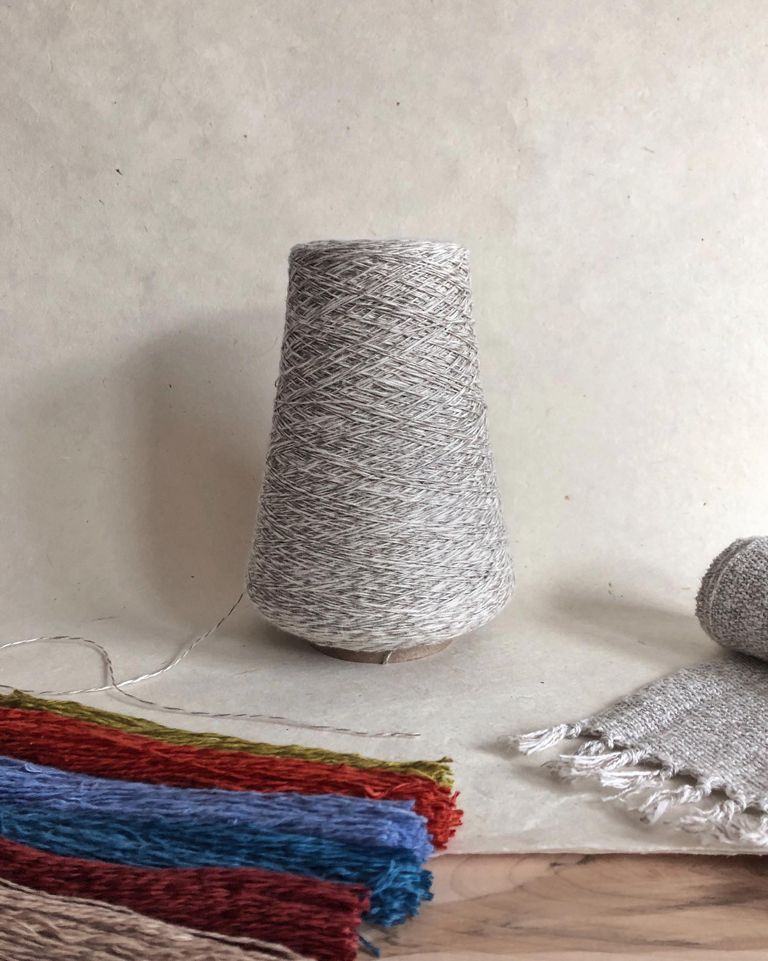 Duet Cotton Linen Weaving Yarn by Gist Yarn