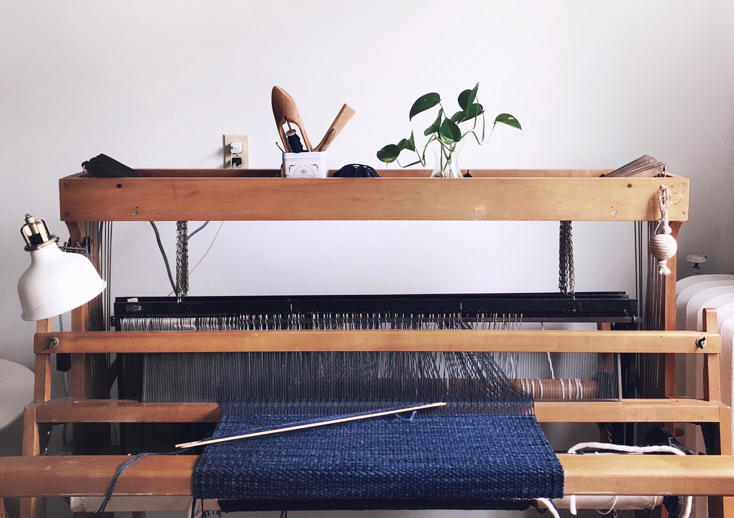 Free Pattern Color and Weave Tea Towels on a Rigid Heddle Loom