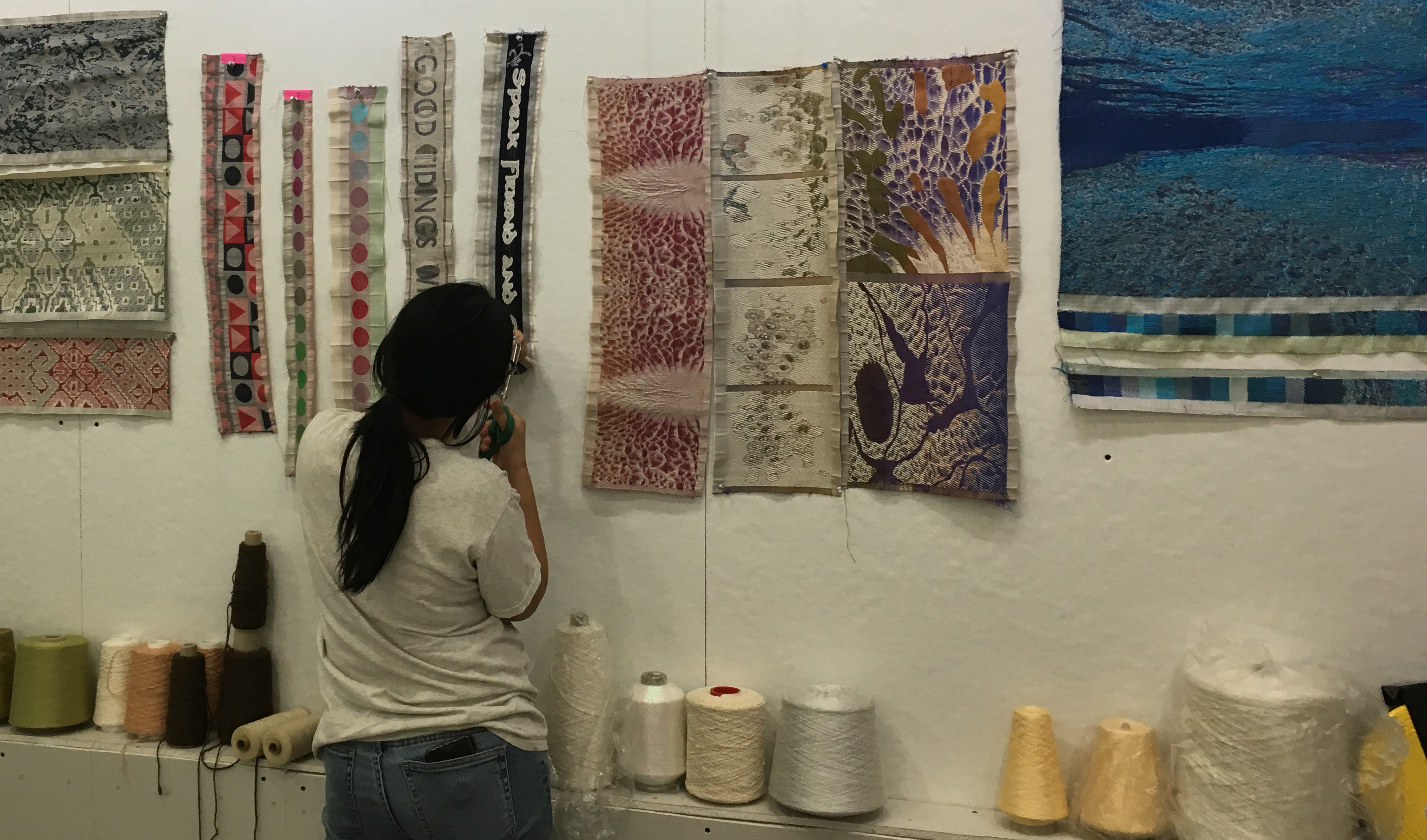 Episode 40: Jacquard Weaving with Cathryn Amidei – GIST