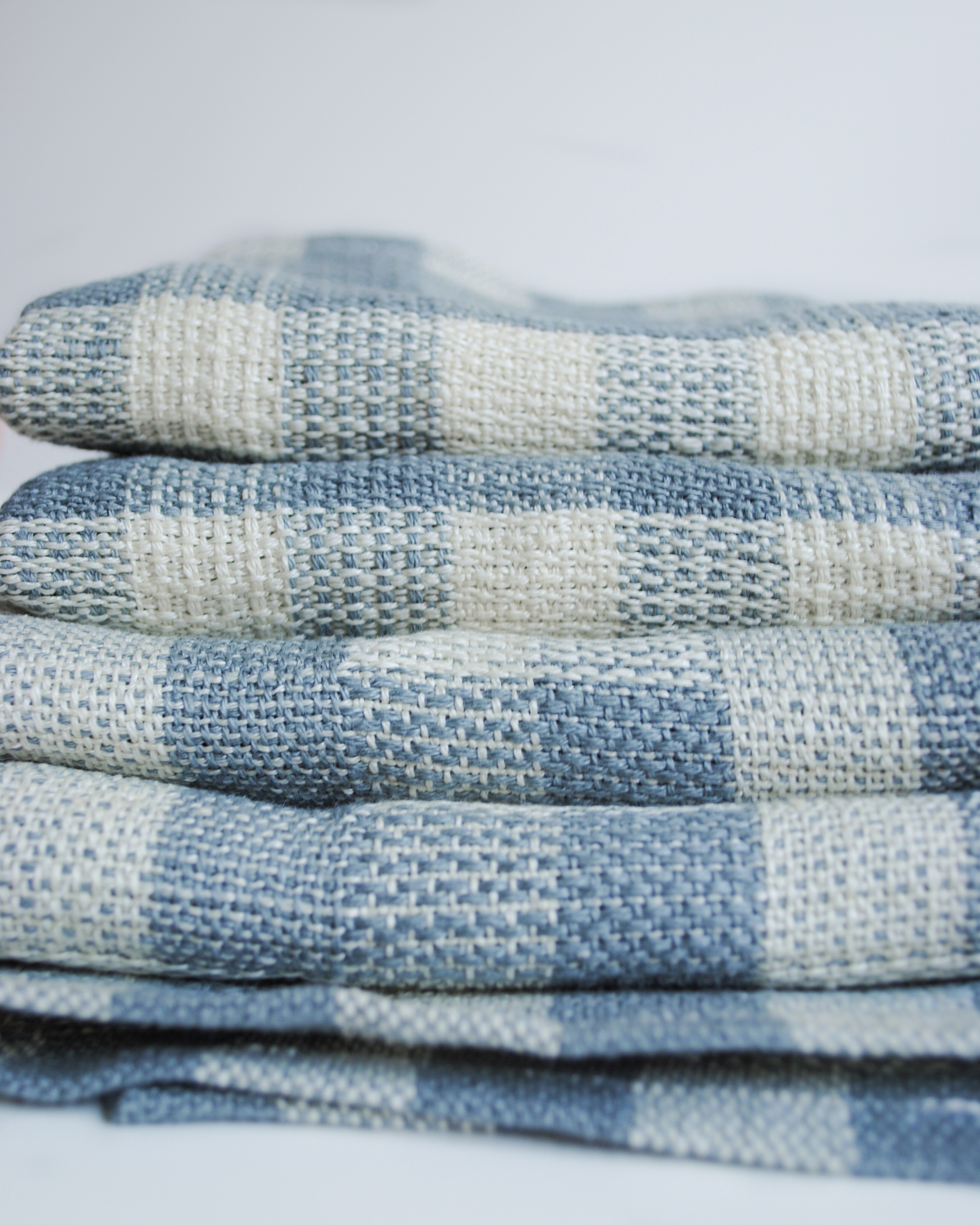 Free Pattern to Weave a Set of Linen Tea Towels by Whitney Crutchfield of We Gather