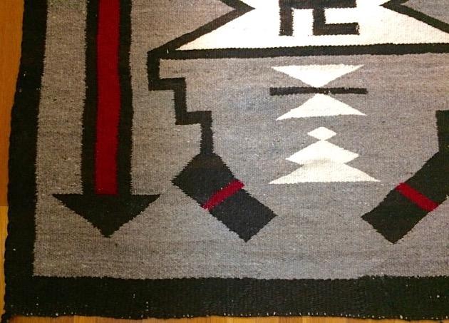 Penelope Starr Navajo Rug Restoration