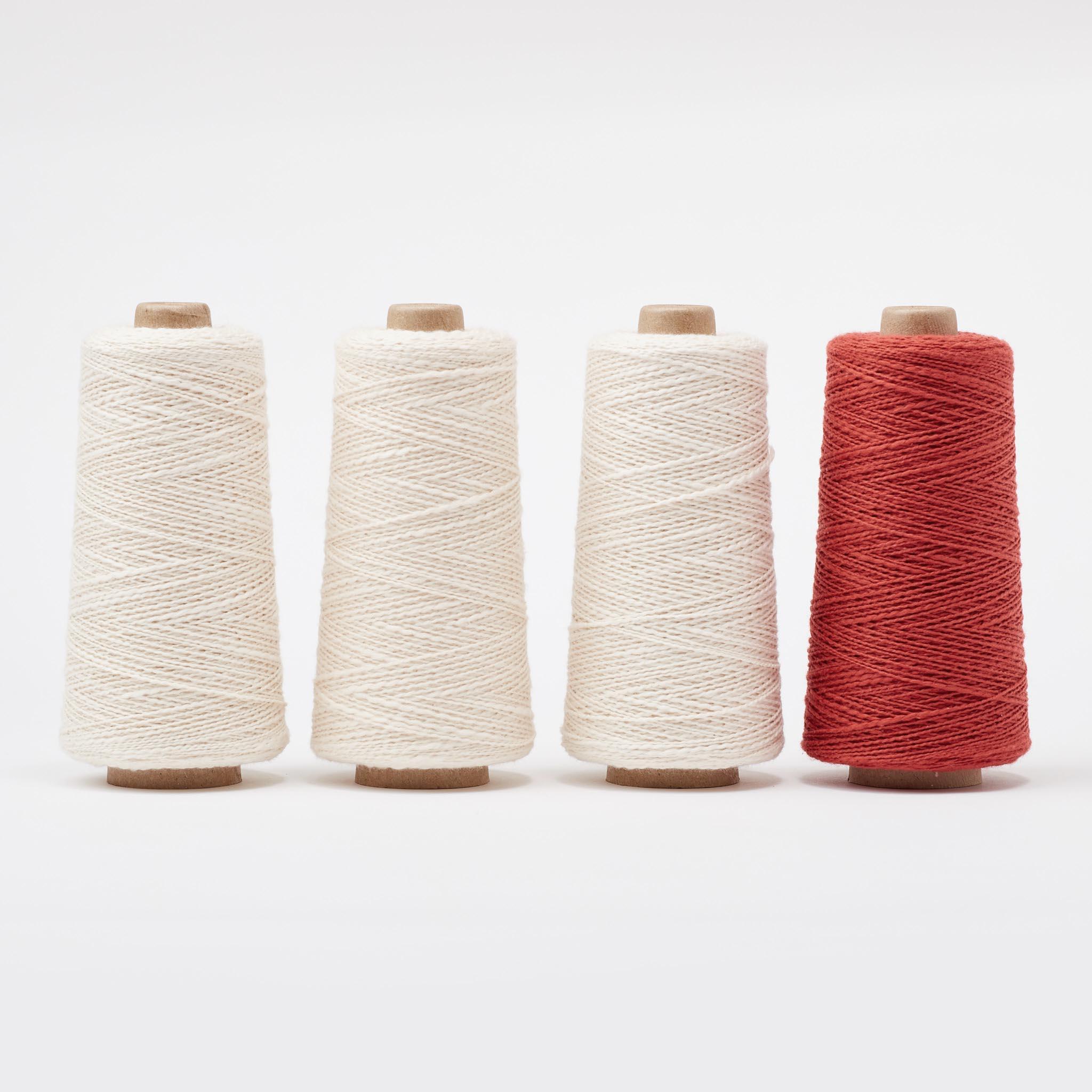 Free Weaving Pattern Droppdräll Towel by Arianna Funk