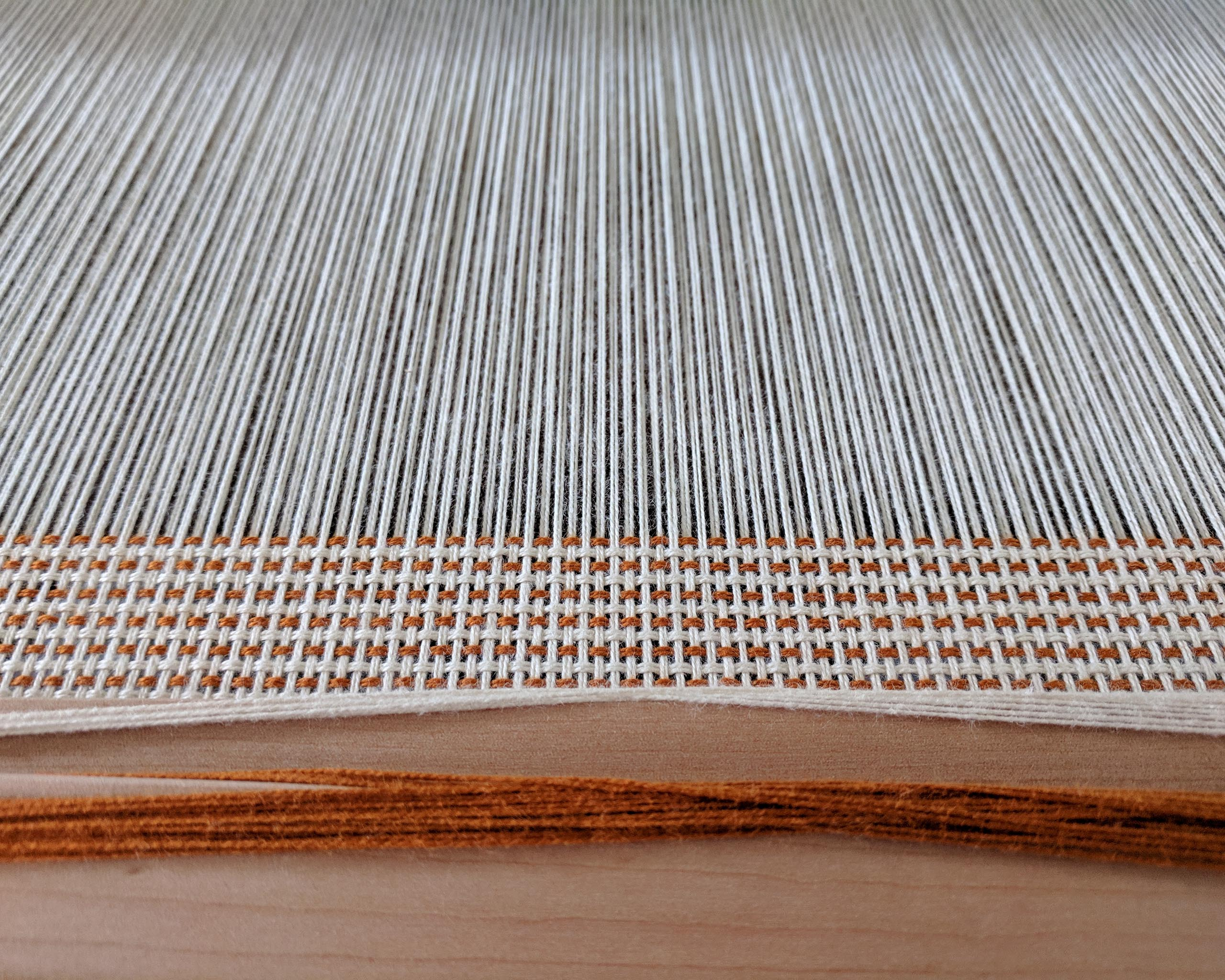 Beginner Rigid Heddle Skyline Tea Towels