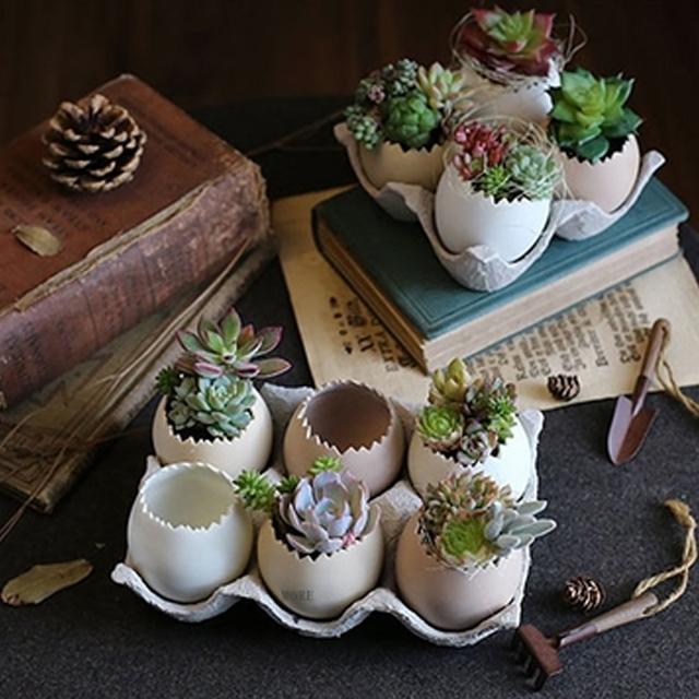 Egg Garden Flowerpot | GlamorousHangups
