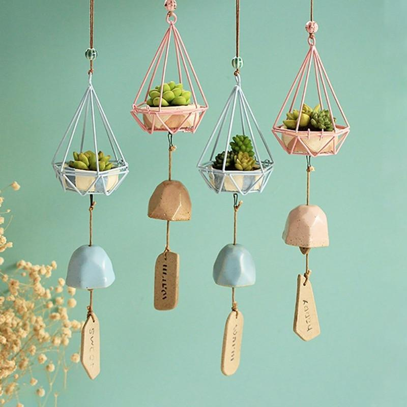 Wind Chime Hanging Baskets | GlamorousHangups