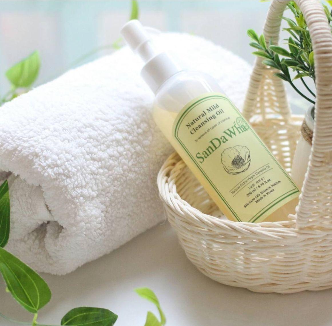 Korean Beauty Tips - SanDaWha Natural Mild Cleansing Oil