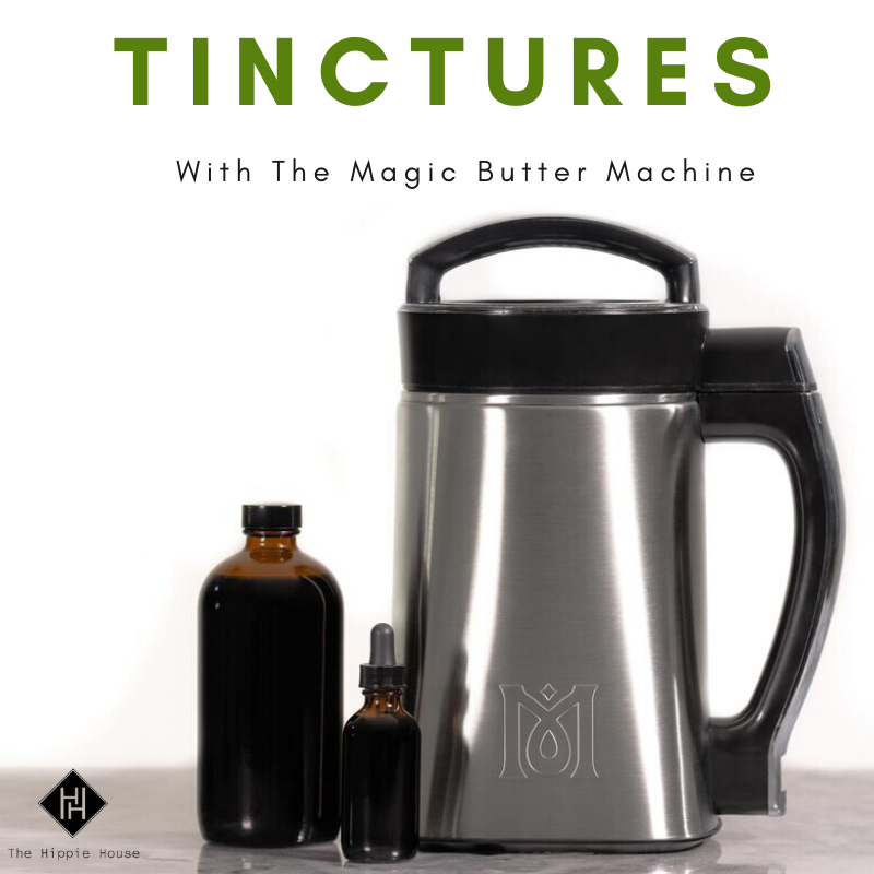 Making Tinctures With The Magical Butter Machine