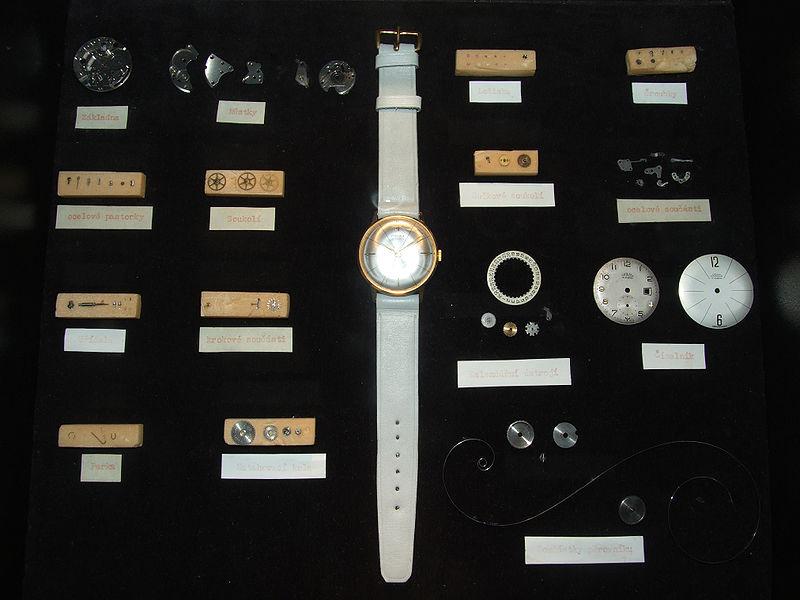 A mechanical watch