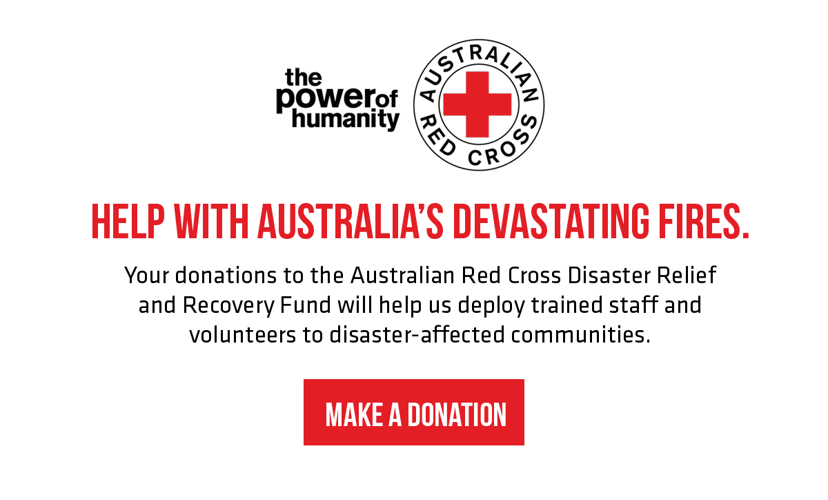 Australian Red Cross Donation