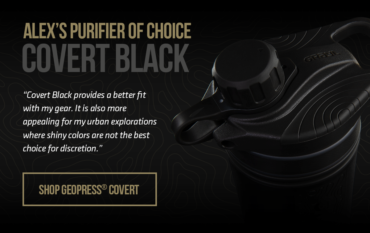 Covert Black GeoPress