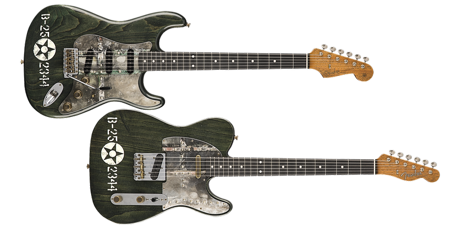 Fender Custom Shop Masterbuilt Pacific Battle Guitars
