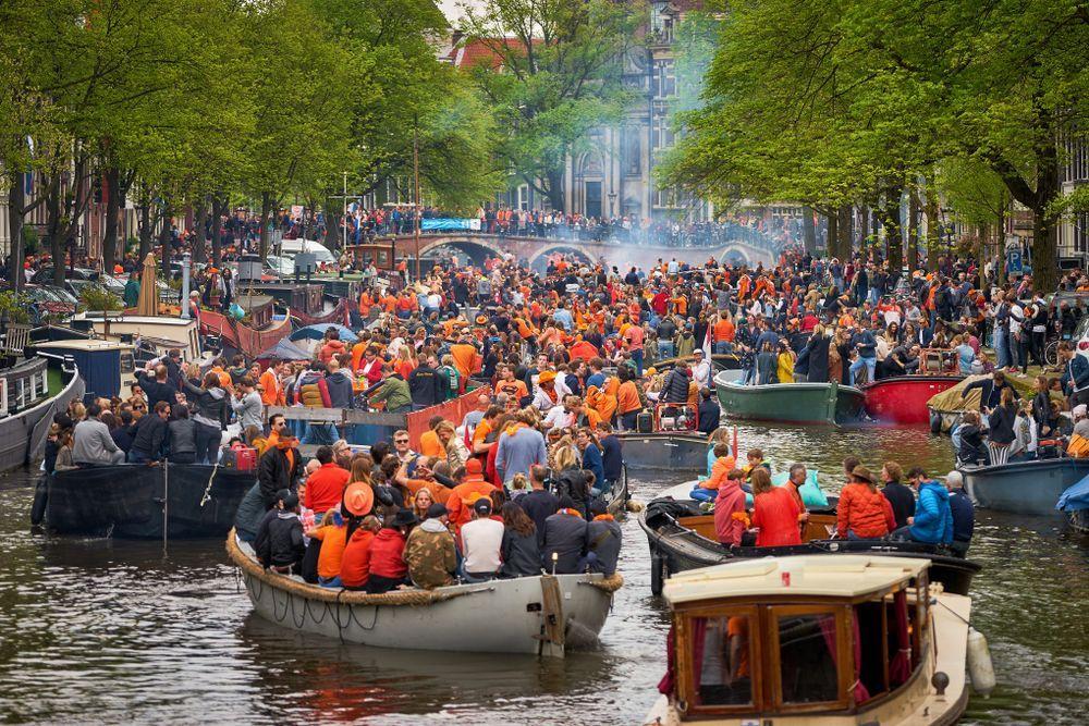 Wir sehen oranje: am holländischen Koningsdag