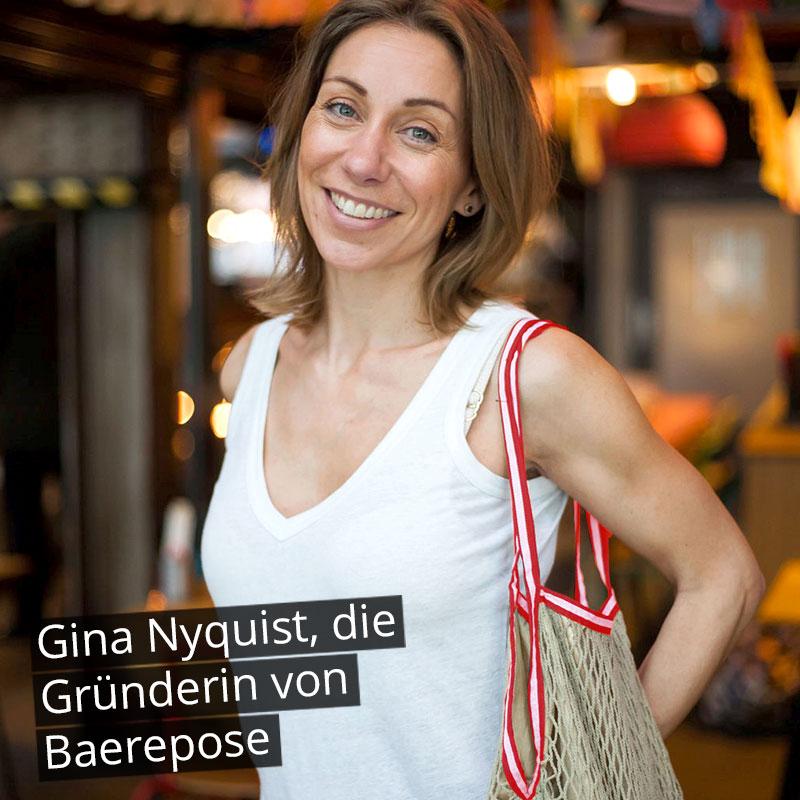 Baerepose-Gründerin Gina