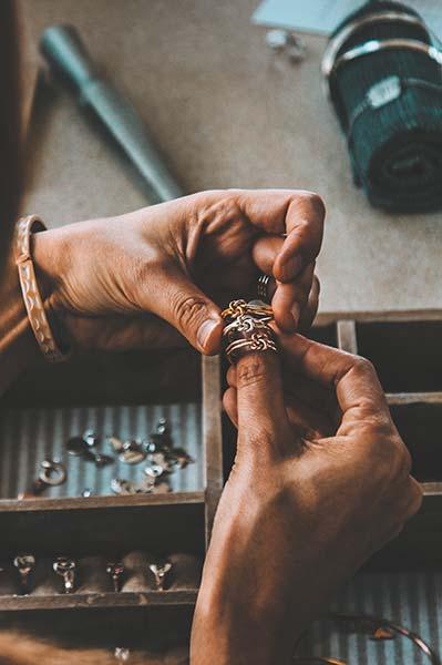 Ringe in Handarbeit