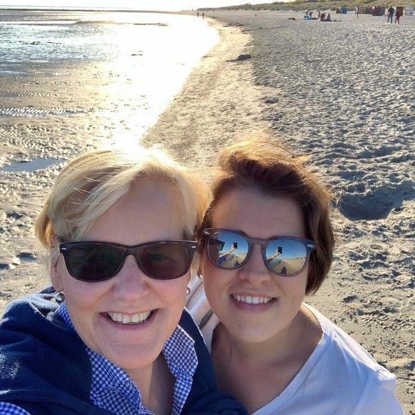 Valerie Siegle, Gründerin von Selection Gustavia, mit ihrer Mutter Karin