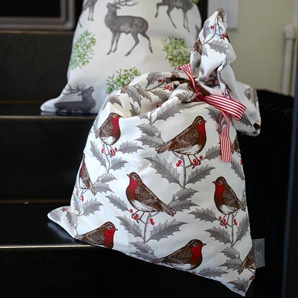 Weihnachtsgeschenkbeutel von Thornback & Peel