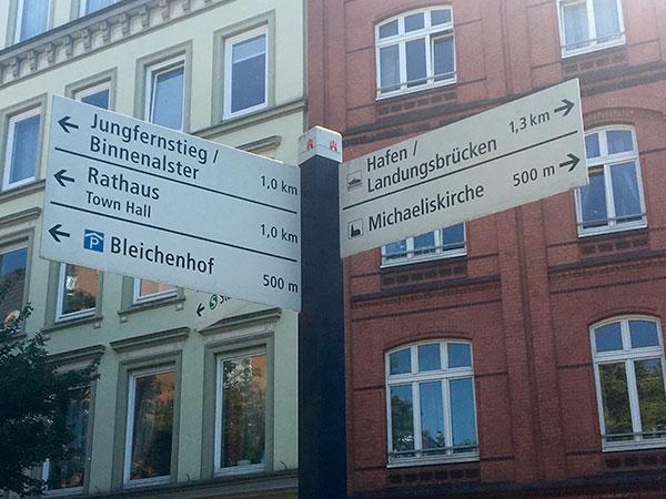 Straßenschild Neustadt