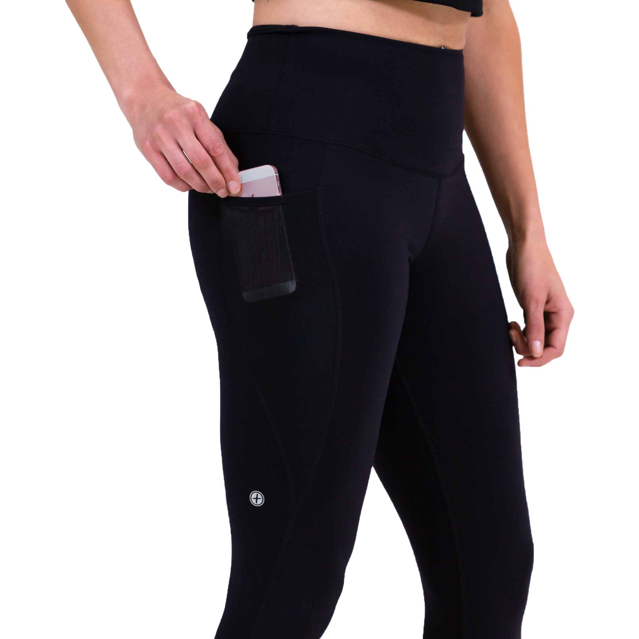 Gym+Coffee All-In Breathe 7 8 length Leggings with Pocket