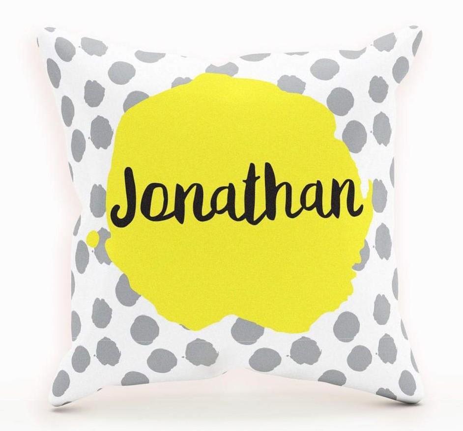 Custom Nursery Throw Pillows