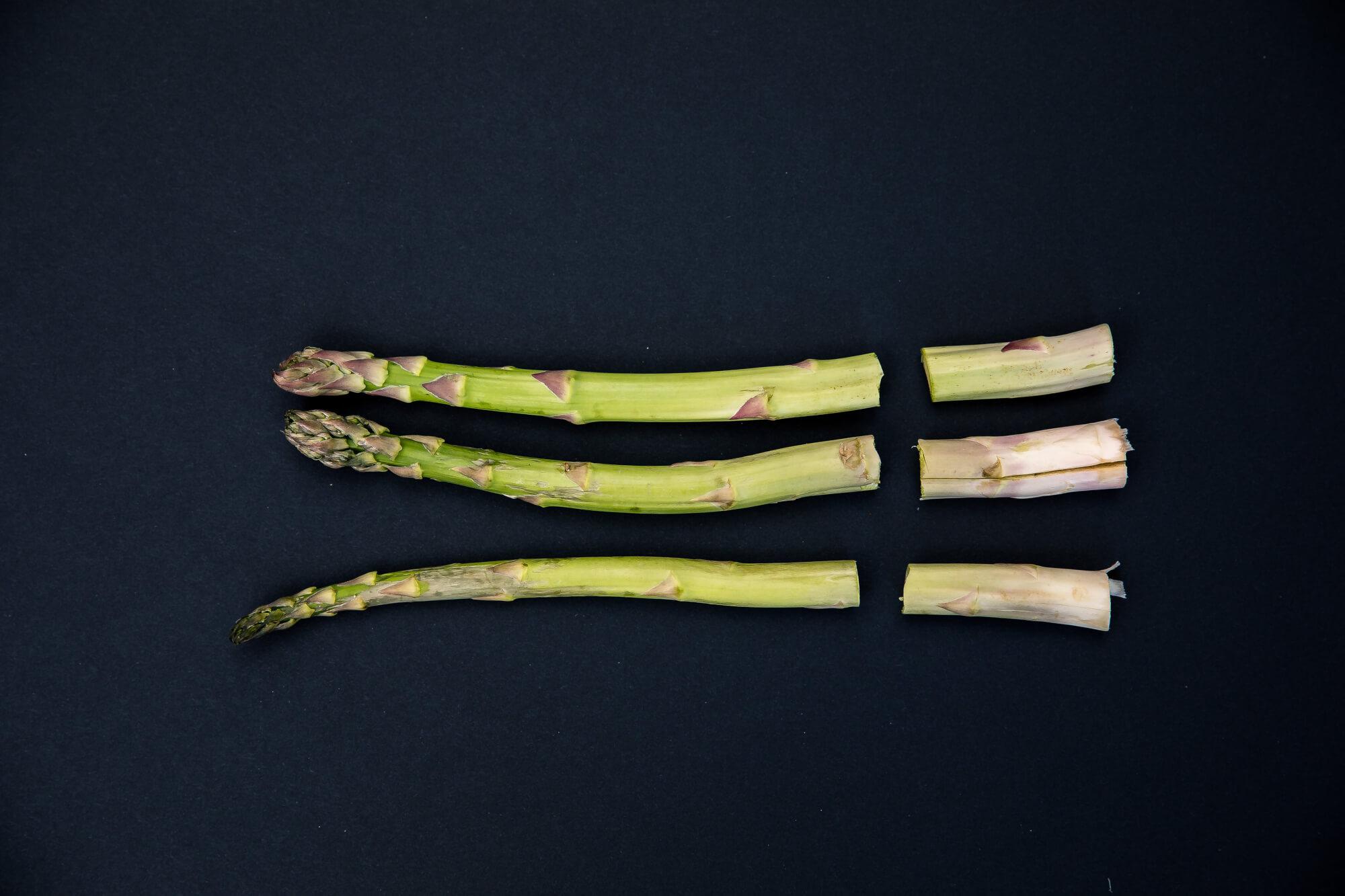 Hvordan bruke opp asparges?