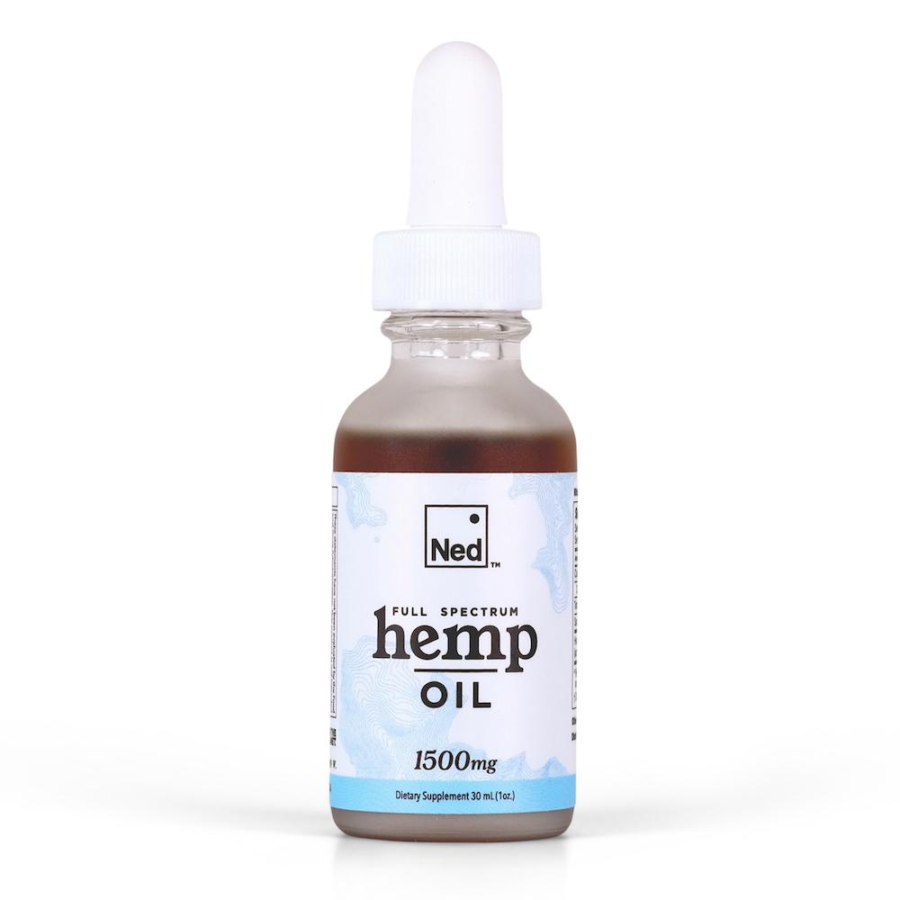 1500mg Ned full spectrum hemp oil