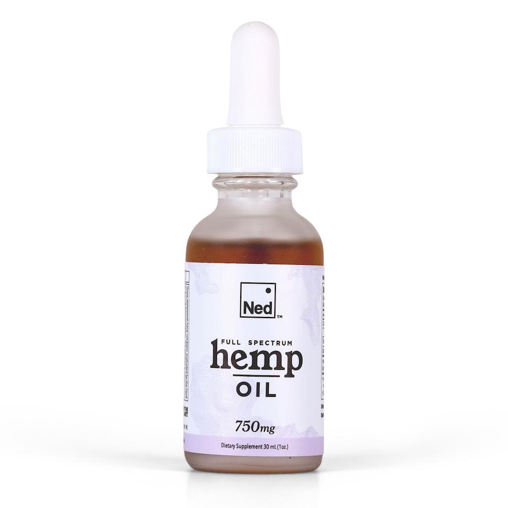 750 mg Ned full spectrum hemp oil