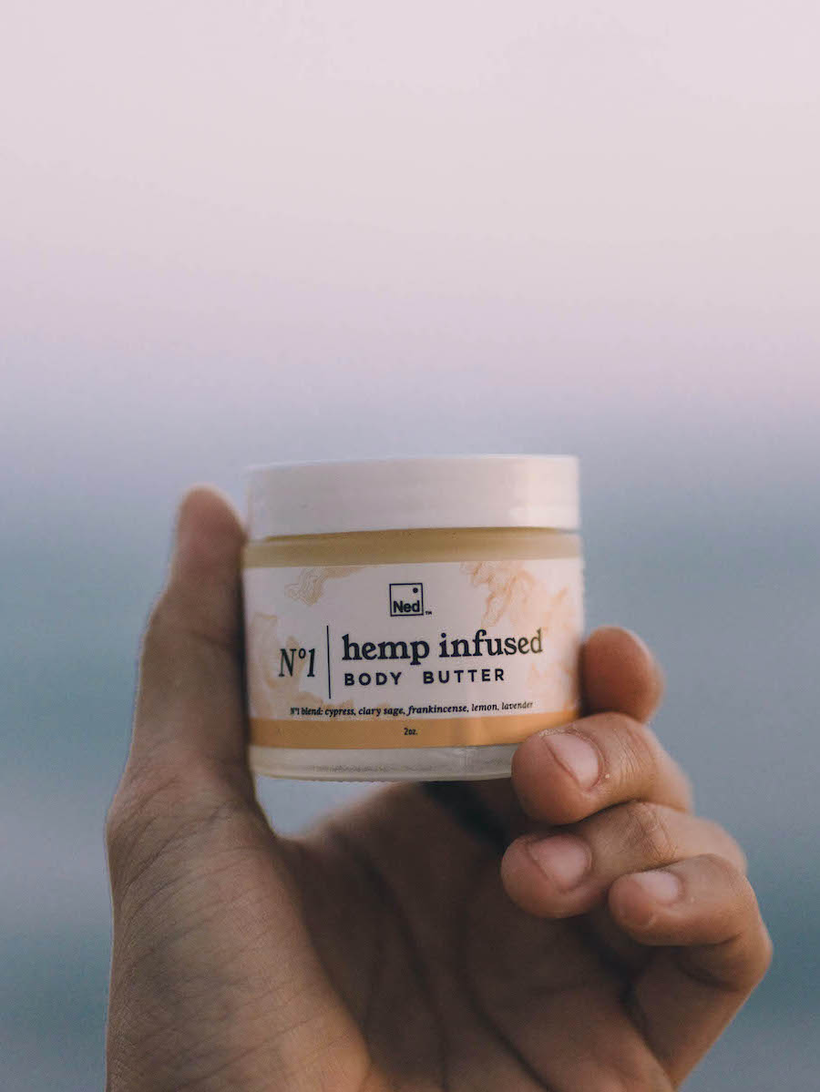 Ned's Hemp Infused Body Butter