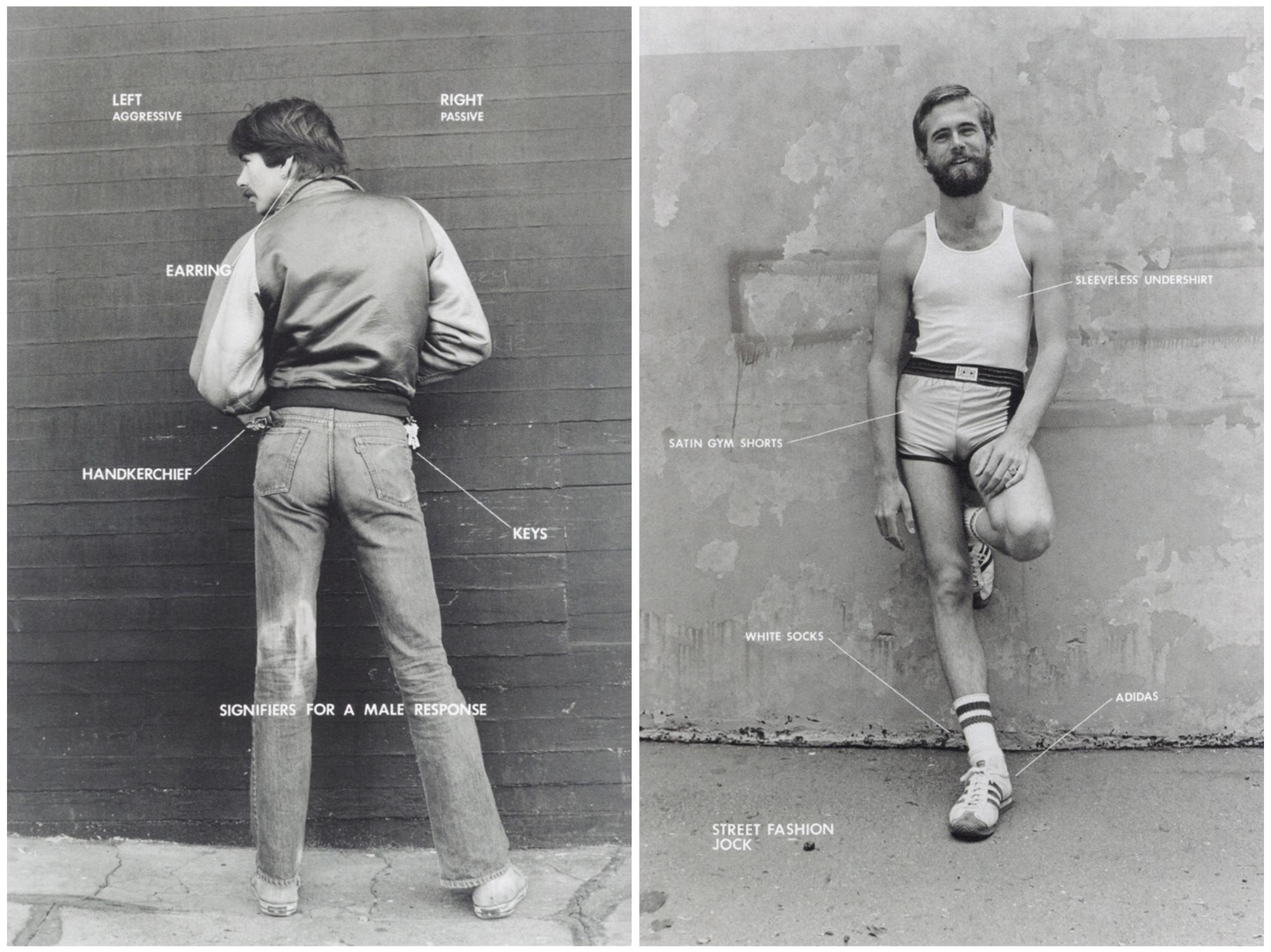 Gay Semiotics / Hal Fischer 1977