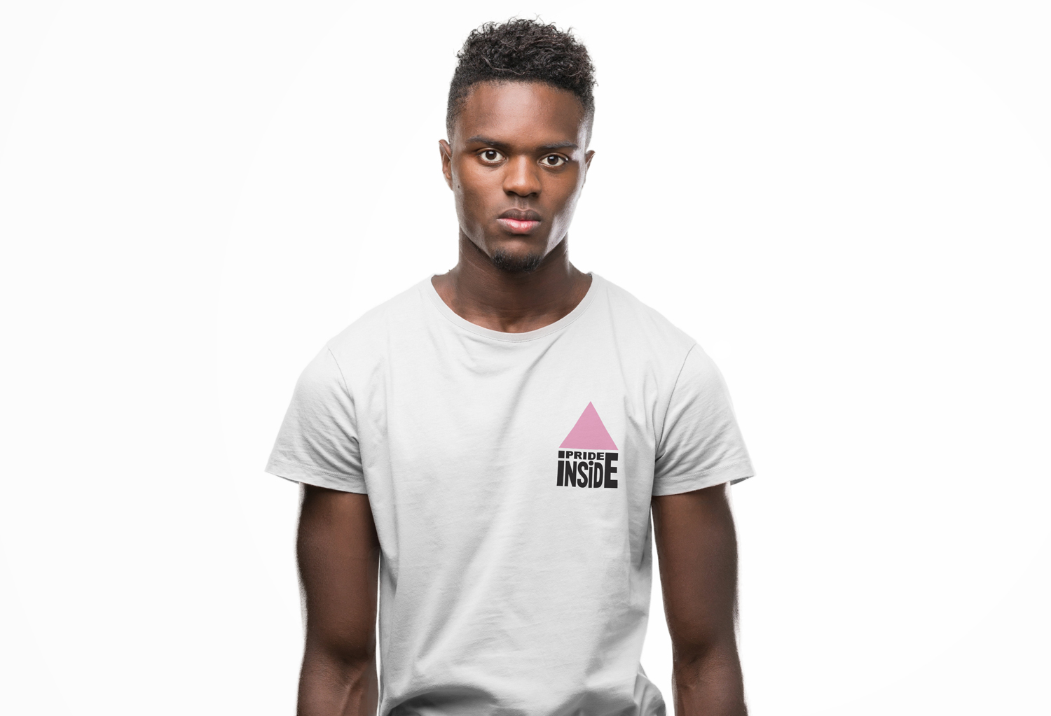 Pride Inside t-shirt from our Pride Shop / Heyboy.com