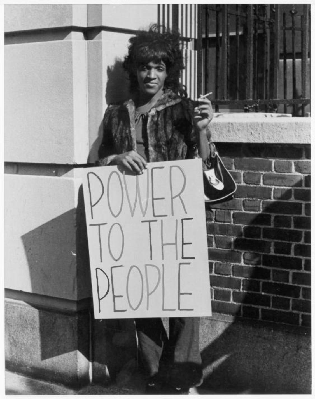 Marsha P. Johnson, New York City, October 5 1970
