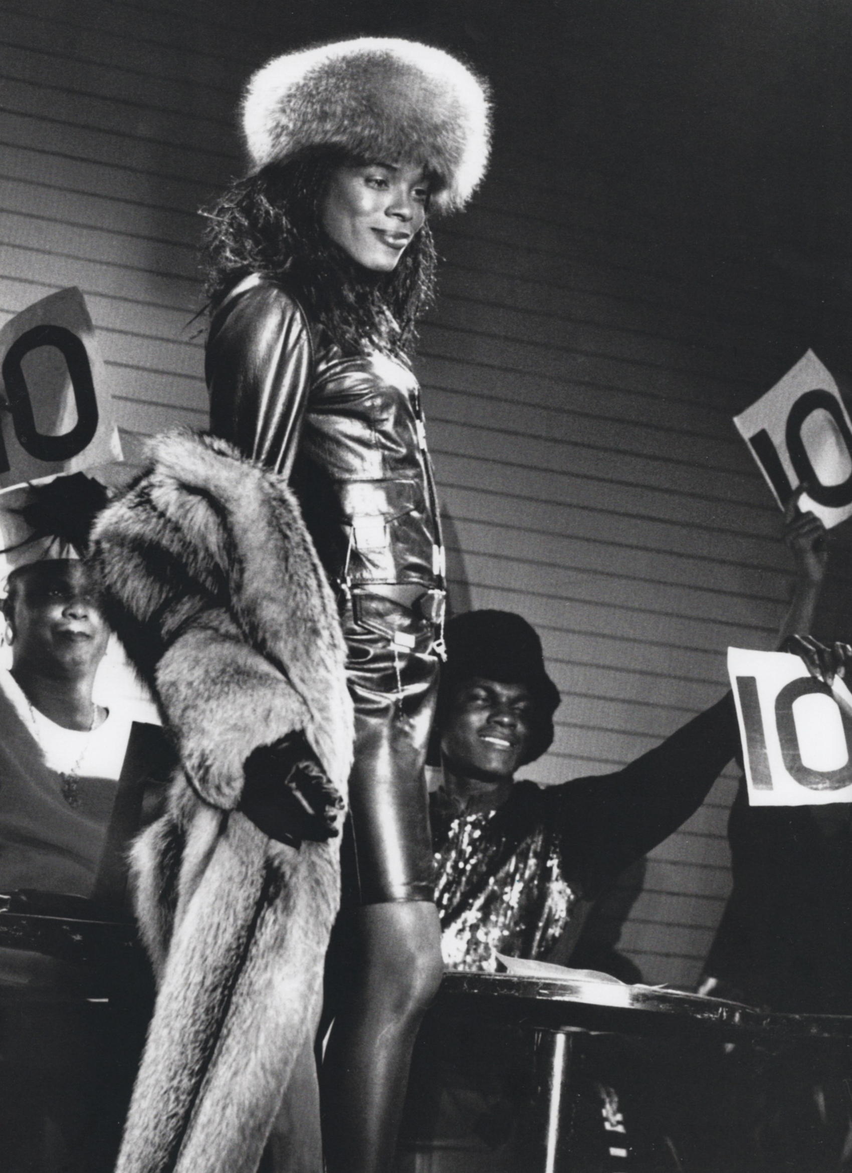 Tina Montana getting 10's across the board / Red Zone Club 1990