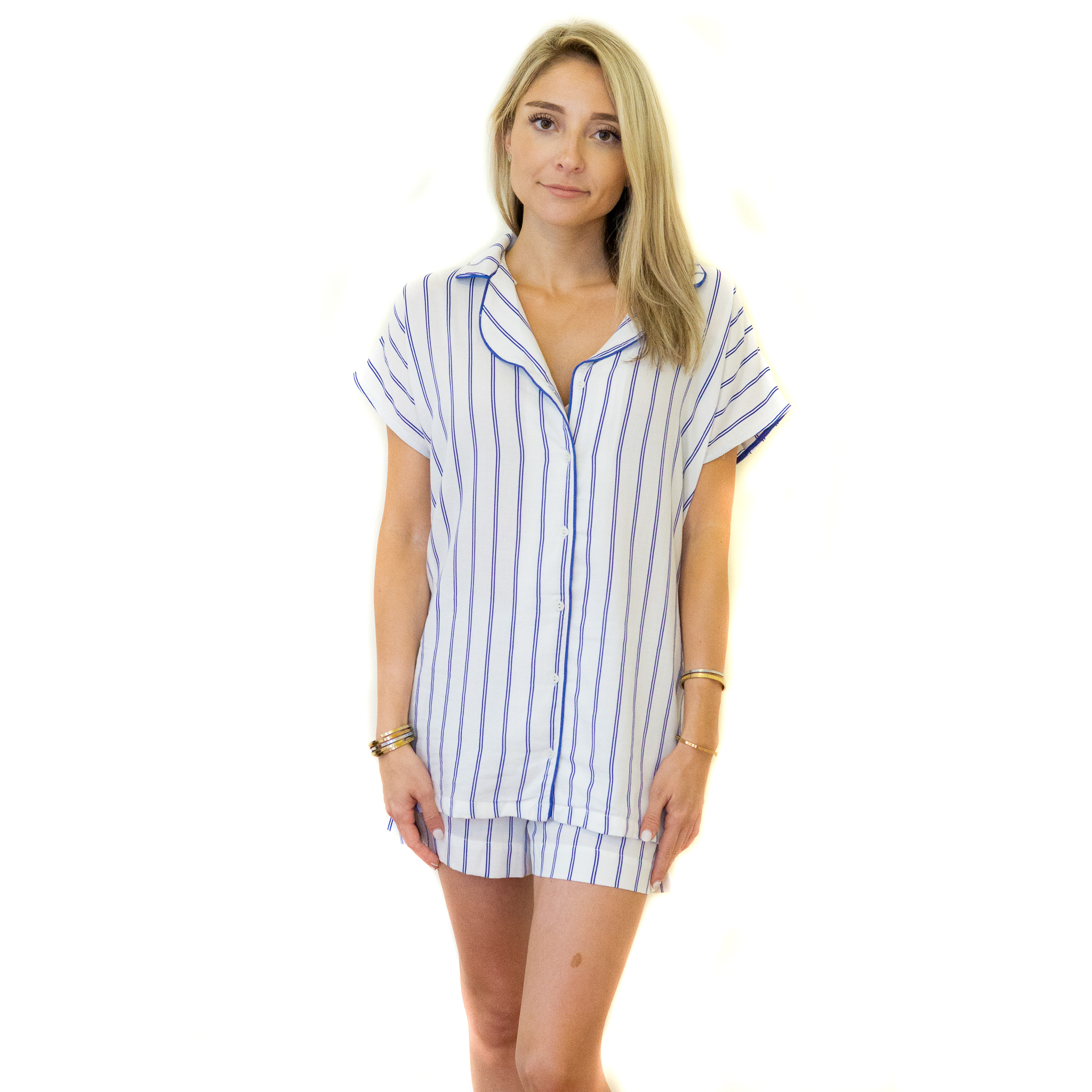 MOOD Pajamas Striped PJ Set