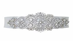 florence wedding dress belt sash