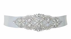 Fleur bridal dress belt