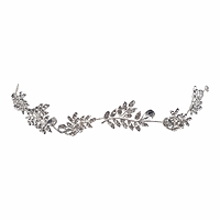 leah silver hair vine